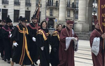 Le Domaine de Saint-Amand défile avec le Grand Conseil du Vin de Bordeaux