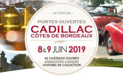 Portes Ouvertes Cadillac Côtes de Bordeaux 8 et 9 Juin