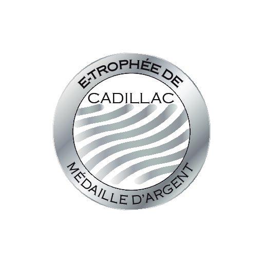 Une médaille d'argent pour la cuvée Exception 2018 à l'e-trophée de Cadillac 2021